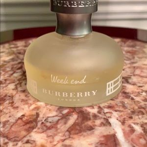 Week end Burberry London Parfumerie